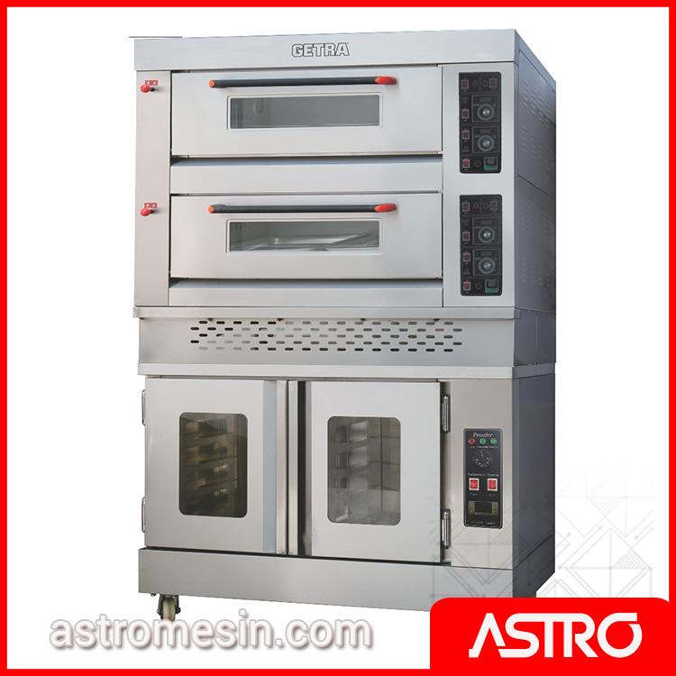 Combi Deck Oven Proofer GETRA RFL-24SS:FJ-10