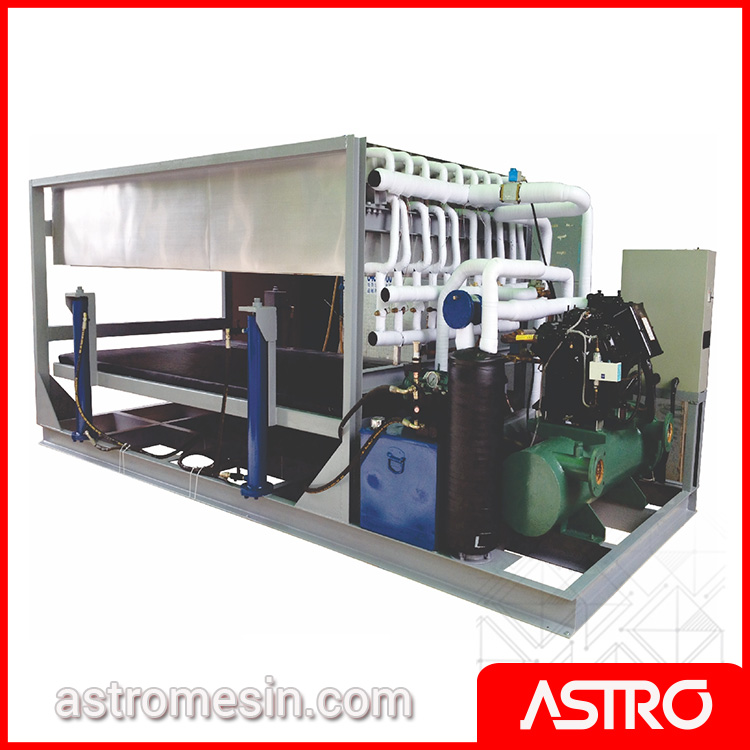 Mesin Es Balok Commercial Ice Block Machine GEA D-K50 Surabaya