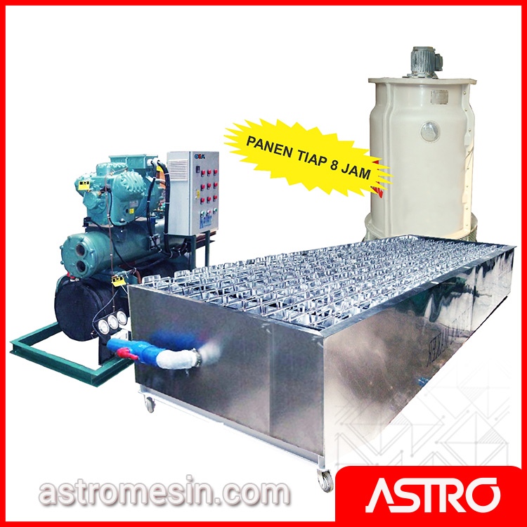 Mesin Es Balok Commercial Ice Block Machine GEA MB-20 Surabaya
