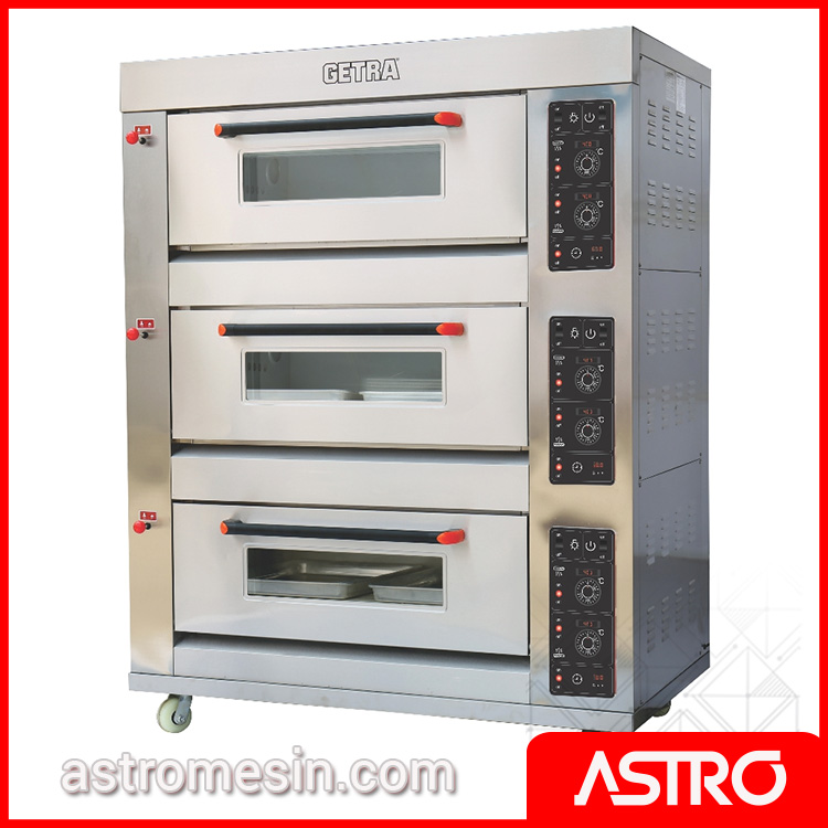 Oven Gas Deck | Harga Oven Roti & Oven Kue | Convection Oven Rotary