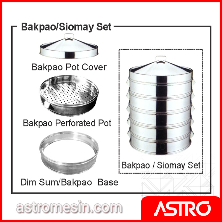 Bakpao Siomay Set Accessories GETRA Surabaya