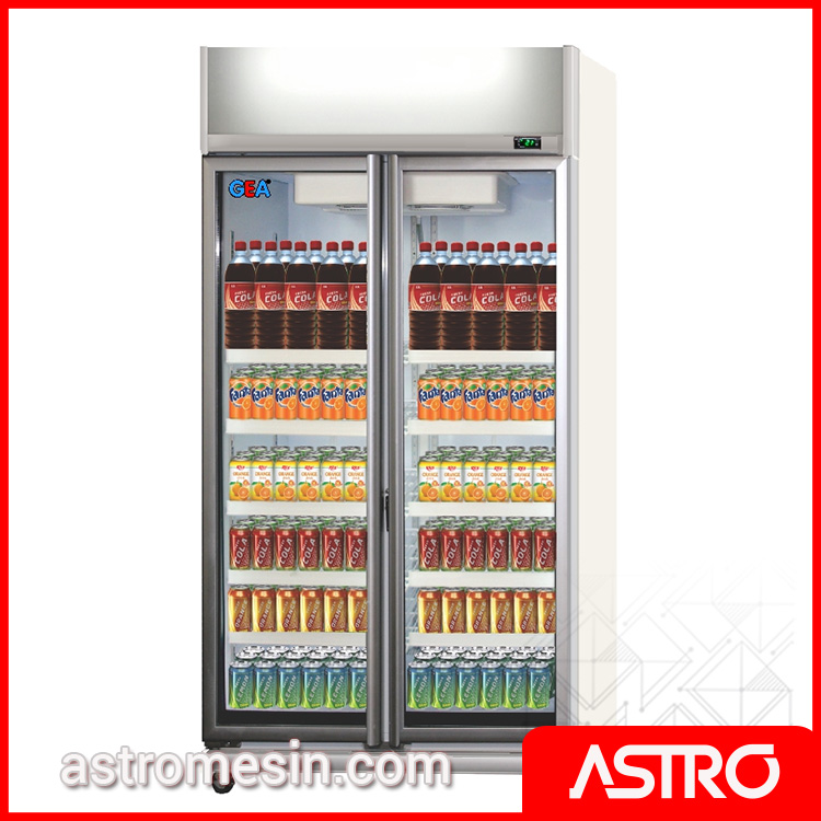 Display Cooler Showcase Pendingin GEA EXPO-800AH:CN Surabaya
