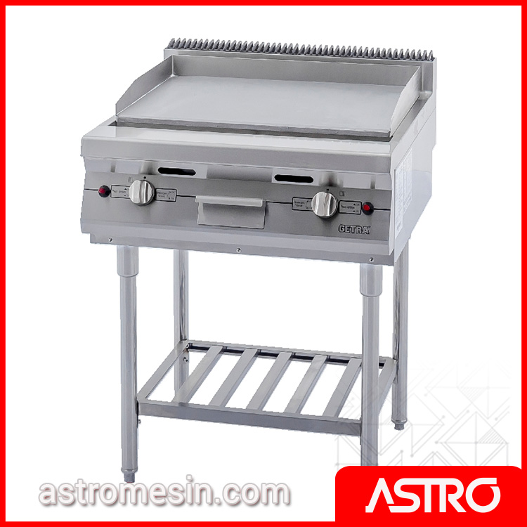 Gas Open Griddle Broiler WIth Stand GETRA RPD-4 Surabaya