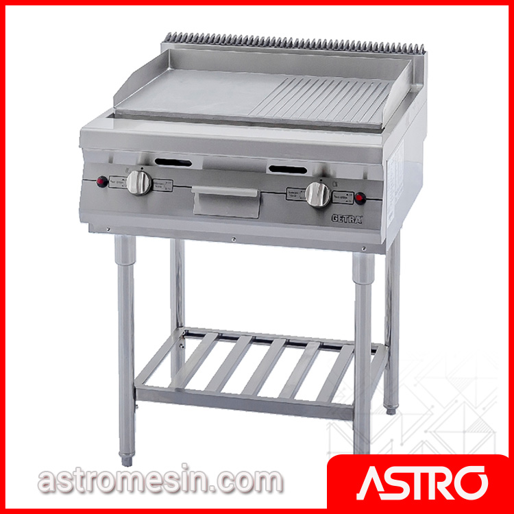 Gas Open Griddle Broiler WIth Stand GETRA RPD-4B Surabaya