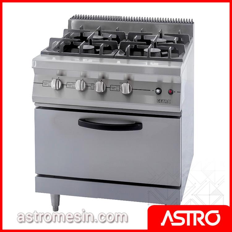Kompor Gas Oven | Kompor Restoran Kapasitas Besar | Open Burner