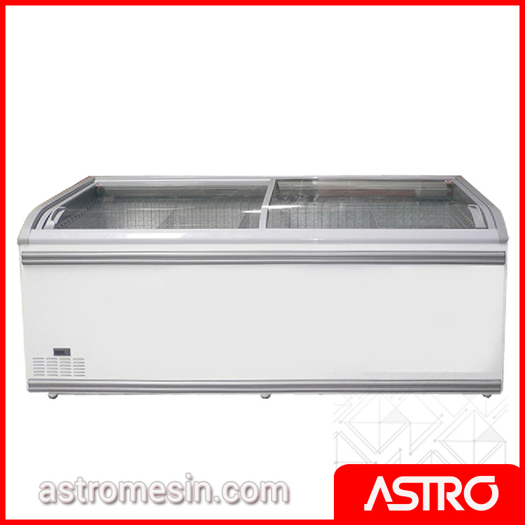 Glass Door Freezer Automatic Defrost GEA Tipe VANDA Surabaya
