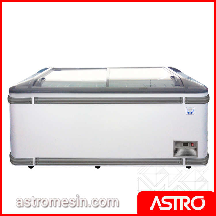 Glass Door Freezer Pembeku Es Automatic Defrost GEA VANDA HEAD-SU Surabaya