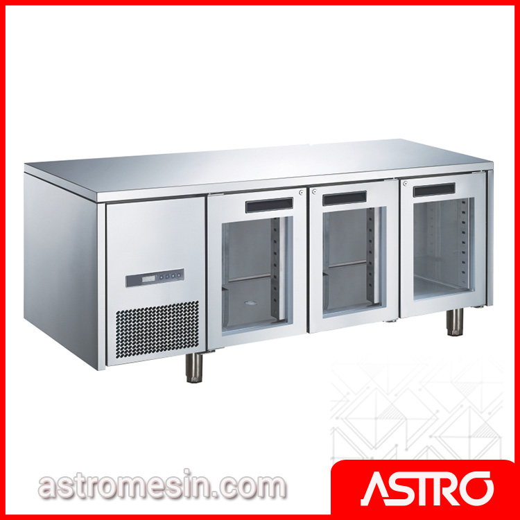 Glass Door Under Counter Chiller GEA M-RW6T3DDD Surabaya