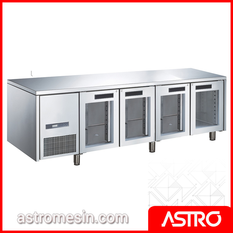 Glass Door Under Counter Chiller GEA M-RW6T4DDDD Surabaya