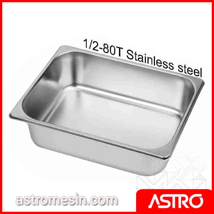 Ice Cream Bin Gelato Stainless Steel GETRA 5.2 Liter Surabaya