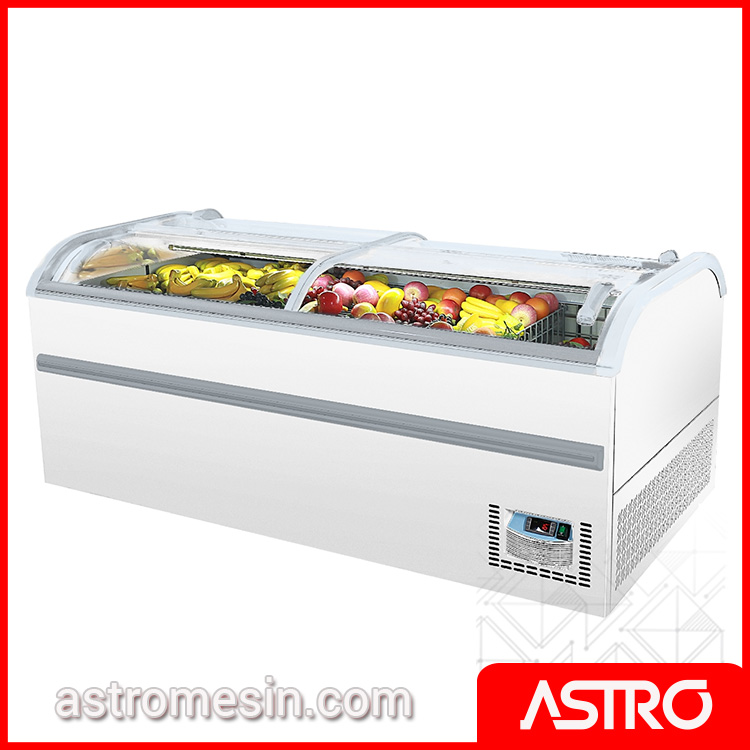 Island Freezer Automatic Defrost GEA TULIP-750R Surabaya