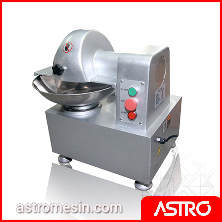 Mesin Bowl Cutter Pengaduk Adonan Daging FOMAC MMX-TQ5AS Murah
