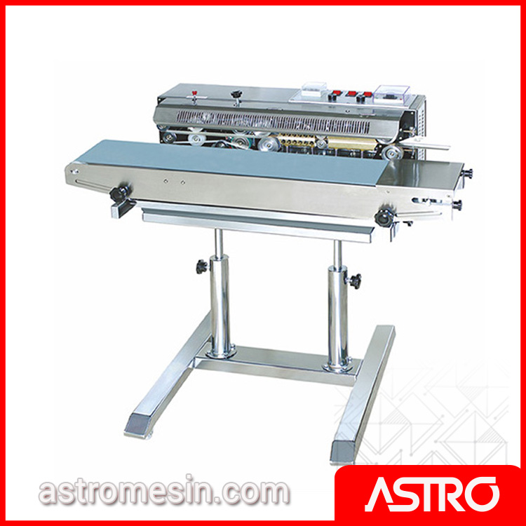 Mesin Continuous Sealer Free Standing ASTRO Surabaya