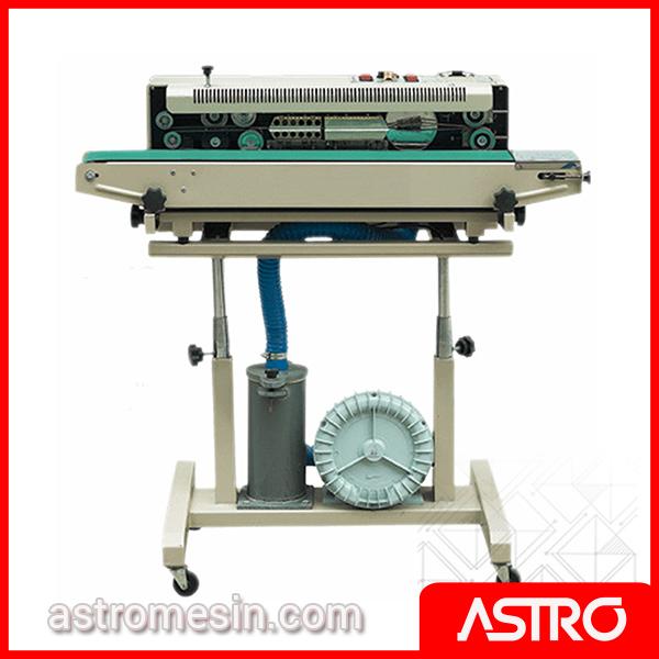 Mesin Continuous Sealer Gas Filling Nitrogen ASTRO DBF-1000 Surabaya
