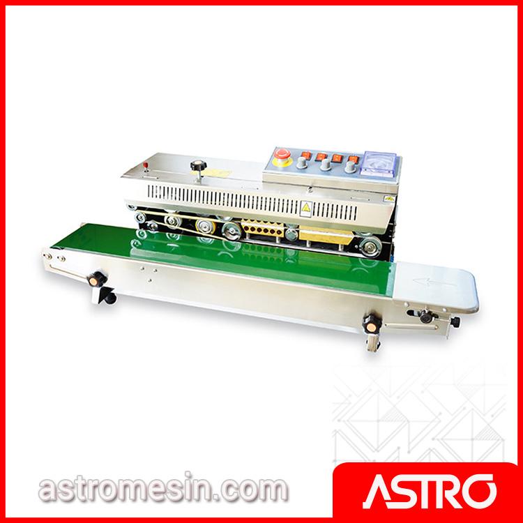 Mesin Continuous Sealer Horizontal ASTRO Surabaya