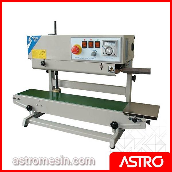 Mesin Continuous Sealer Plastik Otomatis POWERPACK FR-150LW Surabaya