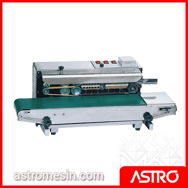 Mesin Continuous Sealer Plastik Otomatis POWERPACK FR-150W Surabaya