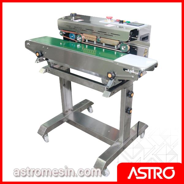 Mesin Continuous Sealer Plastik POWERPACK FR-900F Surabaya