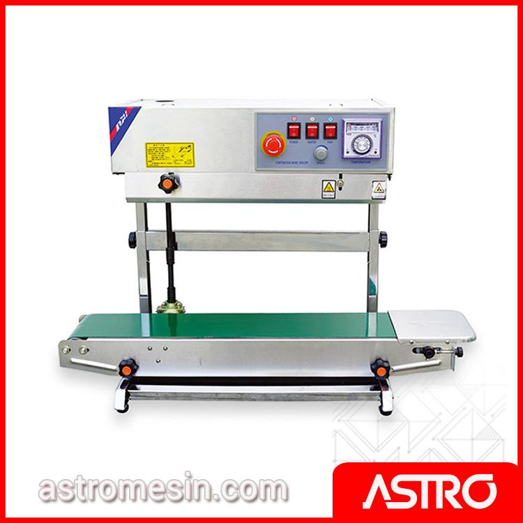 Mesin Continuous Sealer Vertical ASTRO Surabaya