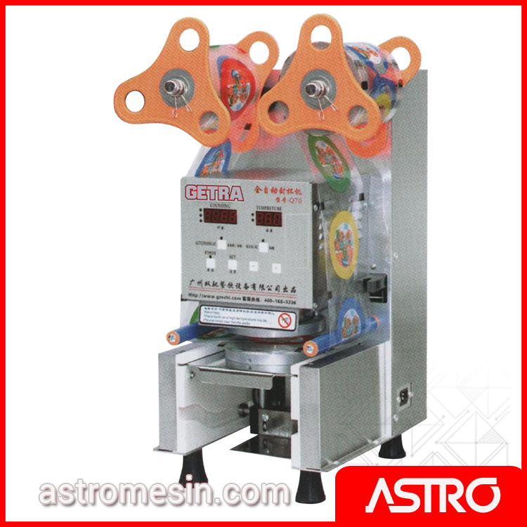 Mesin Cup Sealer Full Otomatis GETRA SC-Q70 Surabaya