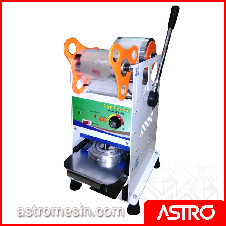 Mesin Cup Sealer | Mesin Press Cup | Harga Alat Press Gelas Plastik