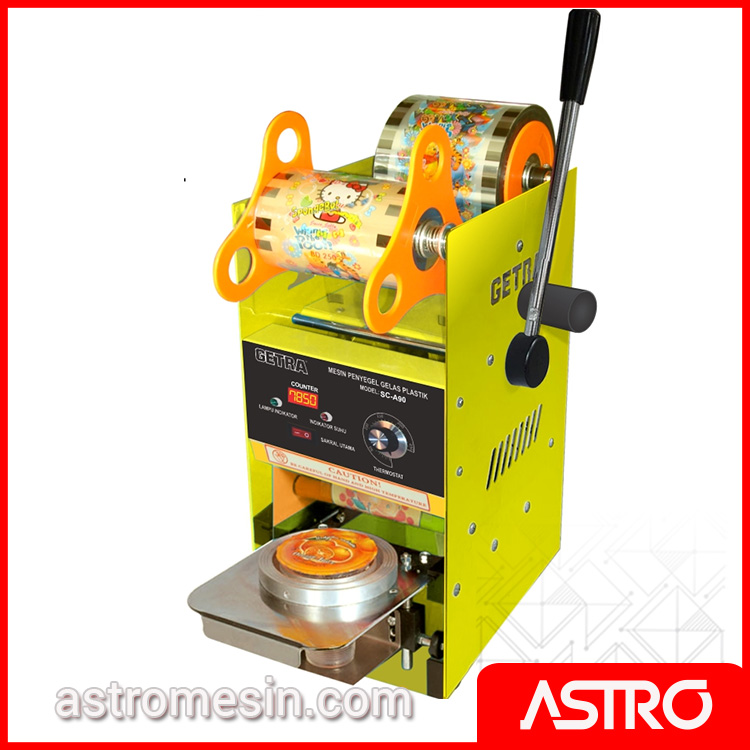Mesin Cup Sealer Semi Otomatis GETRA SC-A90 Surabaya