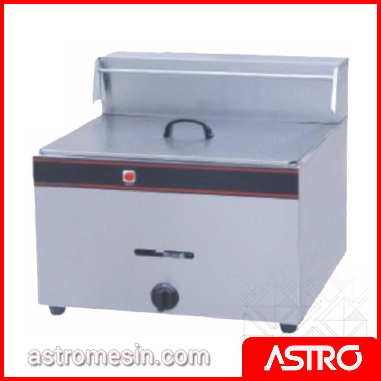 Mesin Deep Fryer Penggorengan Gas ASTRO 1 Basket 13 Liter Surabaya