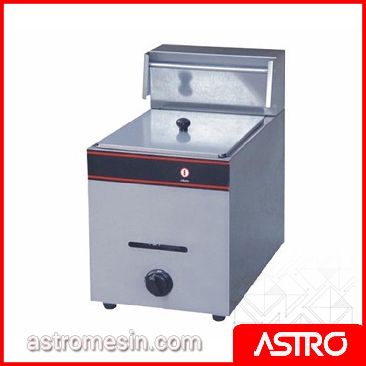 Mesin Deep Fryer Penggorengan Gas ASTRO 1 Basket 6 Liter Surabaya