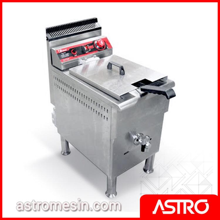 Mesin Deep Fryer Penggorengan Gas FOMAC FRY-G171 Murah