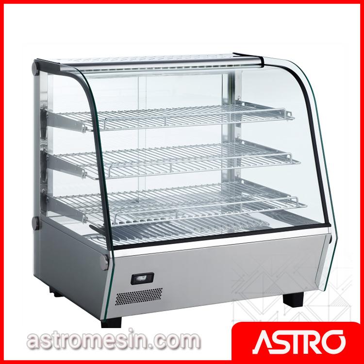 Mesin Display Warmer Penghangat Makanan 120 Liter ASTRO Surabaya