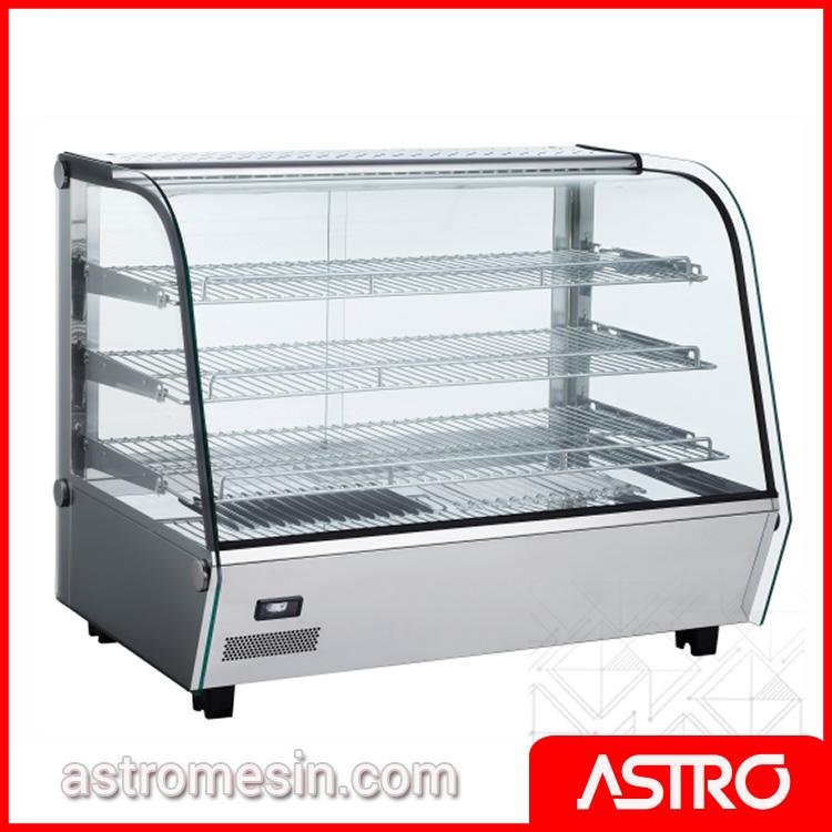 Mesin Display Warmer Penghangat Makanan 160 Liter ASTRO Surabaya
