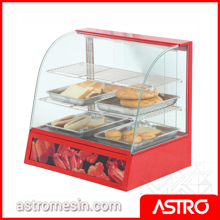 Mesin Display Warmer Penghangat Makanan FWE-827 ASTRO Surabaya