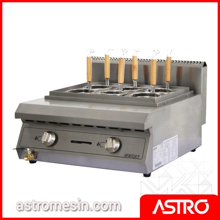 Gas Noodle Cooker | Mesin Pemasak Mie | Alat Perebus Mie