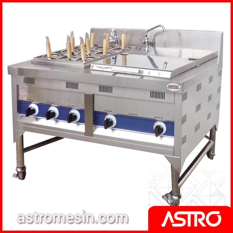 Gas Noodle Cooker | Jual Mesin Pemasak Mie & Alat Perebus Mie