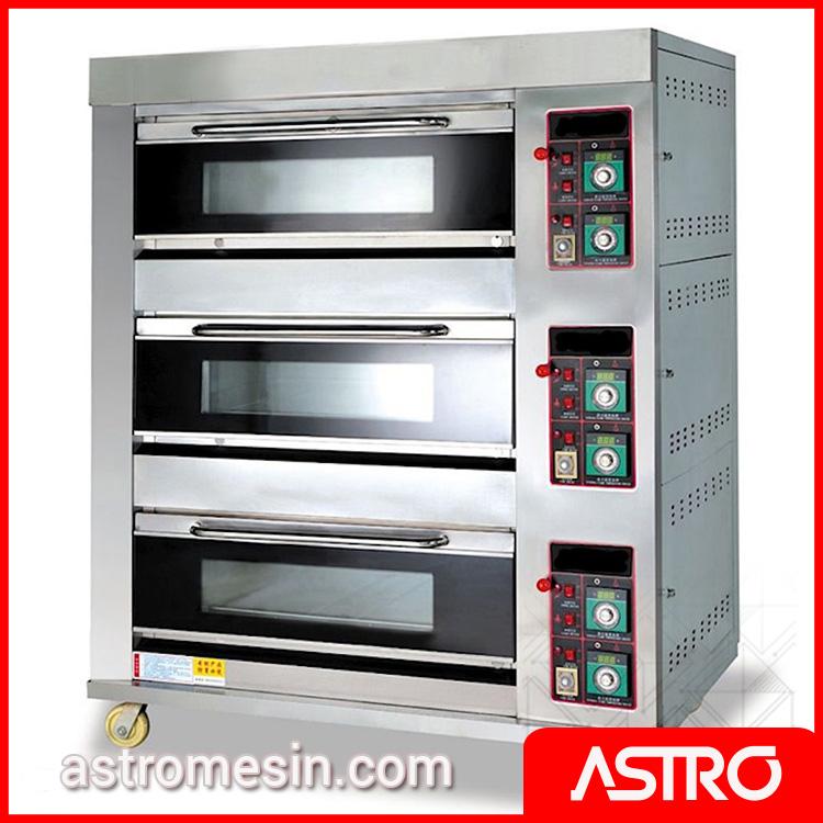 Mesin Gas Oven 3 Deck ASTRO Surabaya