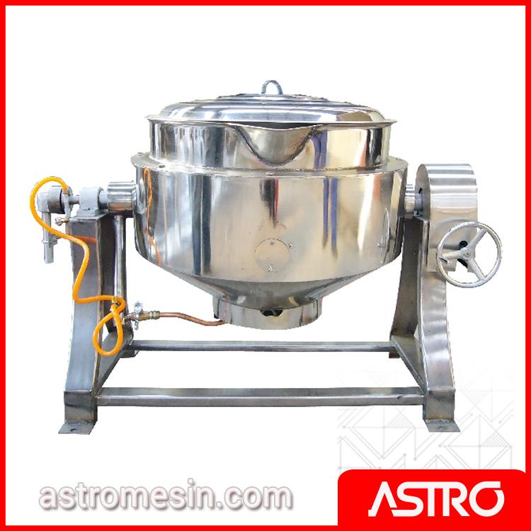 Mesin Gas Tilting Kettle GETRA RC1E Surabaya