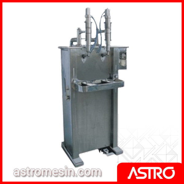 Mesin Liquid Piston Filler Pengisi Cairan Botol POWERPACK QSG-500 Surabaya