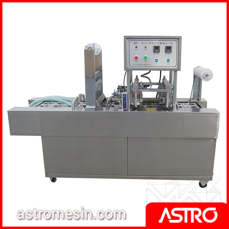 Mesin Pengisi Air Minum Cup Otomatis AMDK ASTRO Surabaya