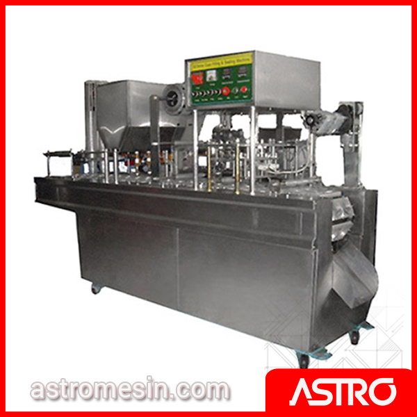 Mesin Pengisi Gelas Cup AMDK Otomatis POWERPACK GD-SERIES 2 Line Surabaya