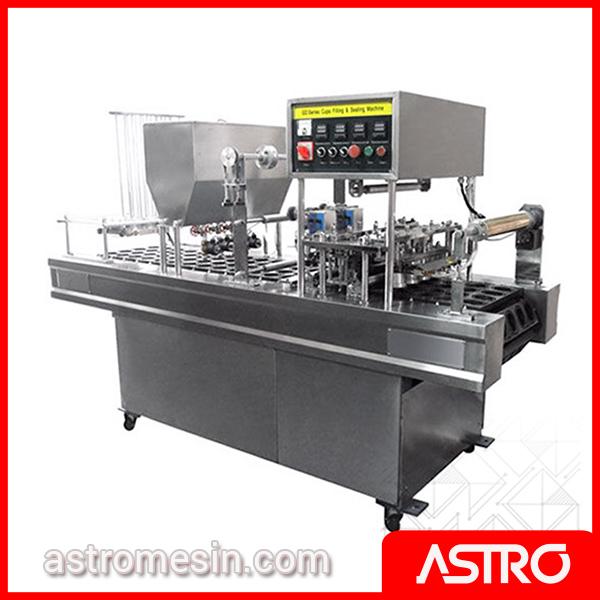 Mesin Pengisi Gelas Cup AMDK Otomatis POWERPACK GD-SERIES 4 Line Surabaya