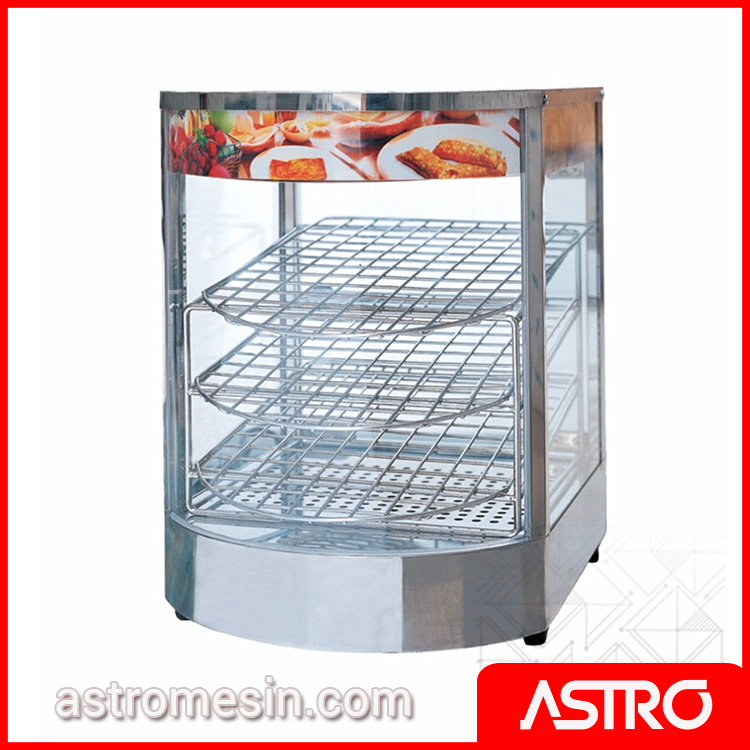 Mesin Showcase Food Warmer FOMAC SHC-FWS1P Murah
