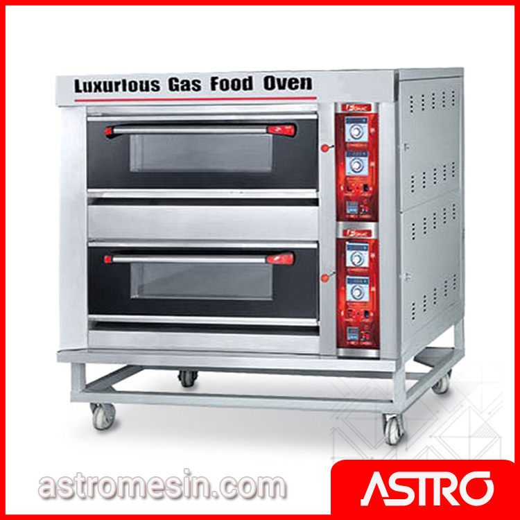 Oven Gas Deck Oven Roti FOMAC BOV-ARF40H Murah