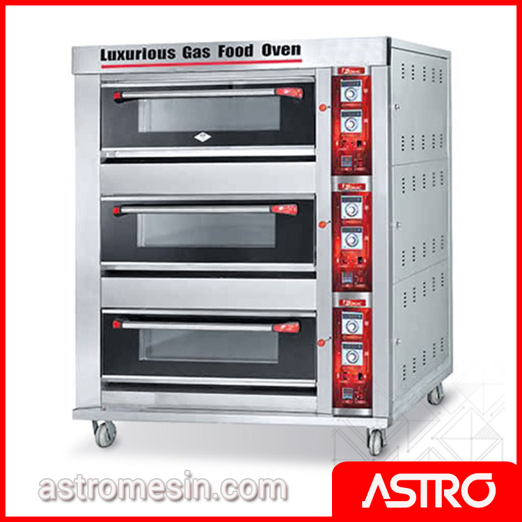 Oven Gas Deck Oven Roti FOMAC BOV-ARF60H Murah