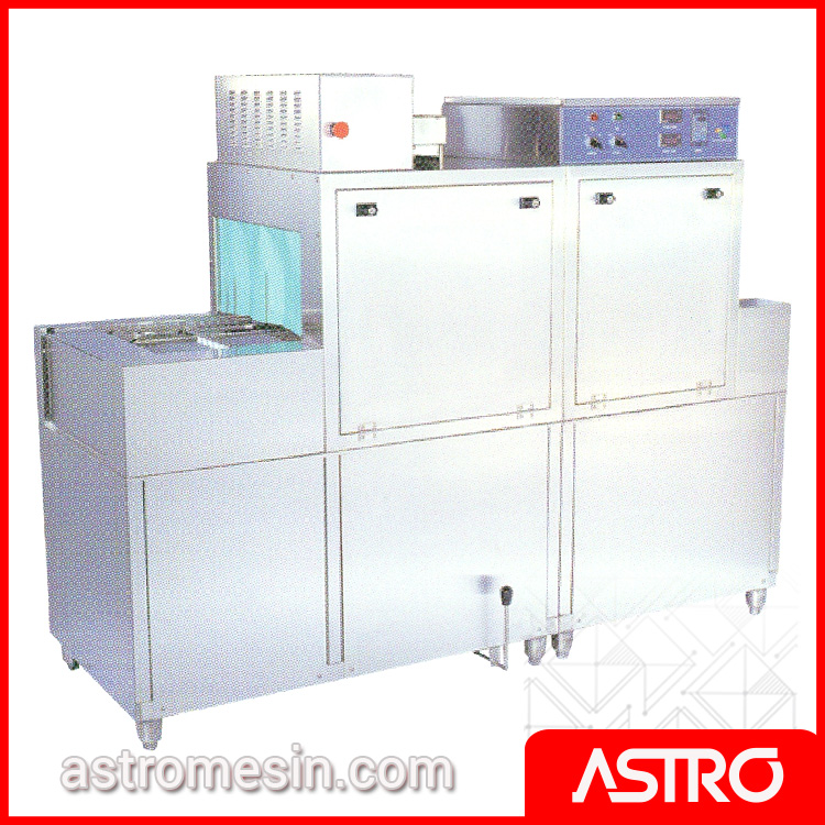 Rack & Slide Conveyor Dishwasher With Dryer GETRA DCS-1E Listrik Surabaya