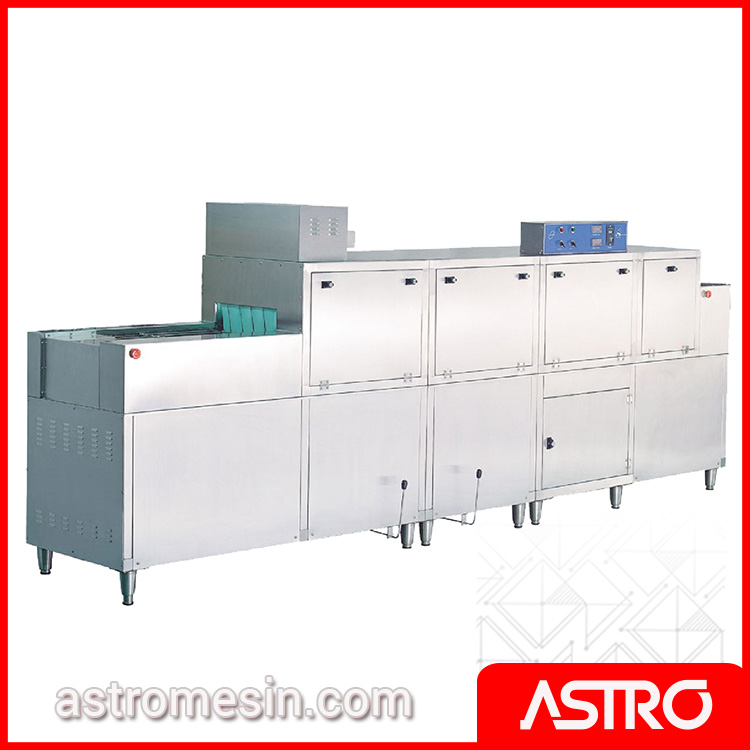 Rack & Slide Conveyor Dishwasher With Pre Wash & Dryer GETRA DS-1G Gas Surabaya