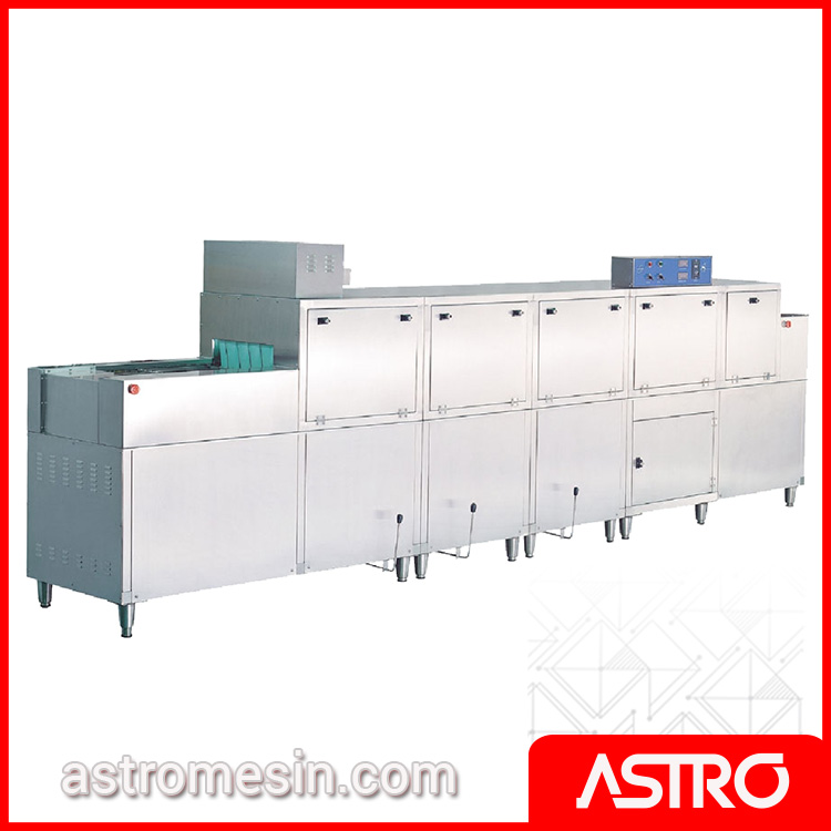 Rack & Slide Conveyor Dishwasher With Pre Wash & Dryer GETRA DS-2G Gas Surabaya