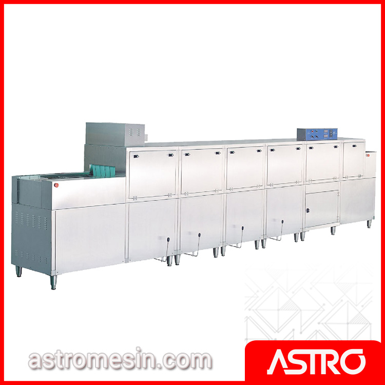Rack & Slide Conveyor Dishwasher With Pre Wash & Dryer GETRA DS-3G Gas Surabaya