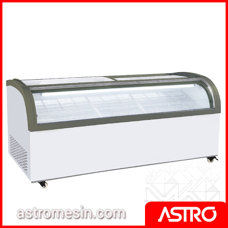 Sliding Curve Glass Freezer GEA SD-2000QS Surabaya