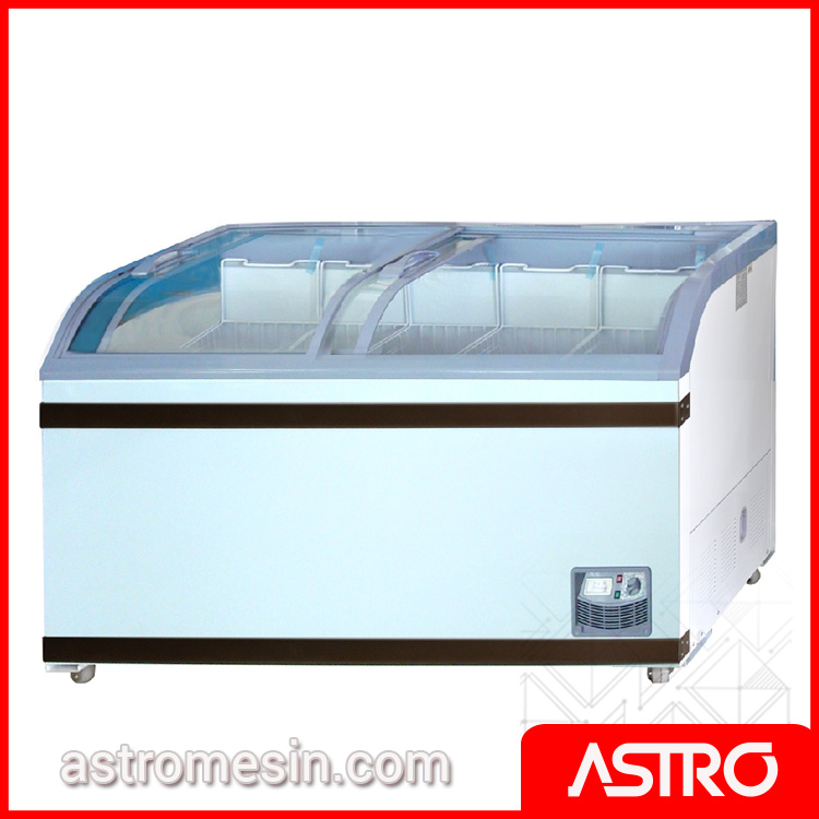 Sliding Curve Glass Freezer GEA SD-500BY Surabaya