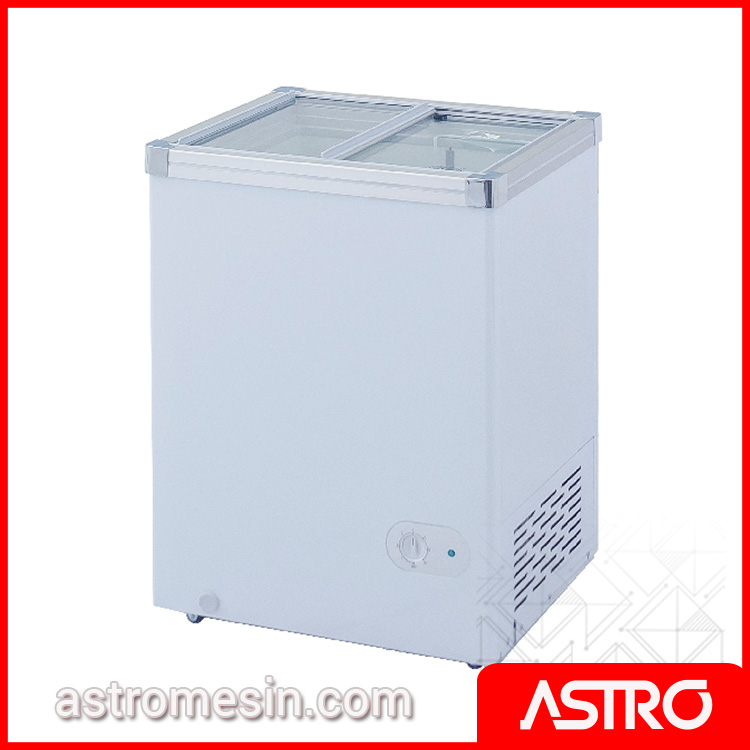Sliding Flat Glass Freezer GEA SD-100 Surabaya